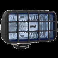 Фара дальнего света HP4 голубое стекло
