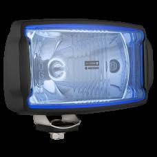 Фара дальнего света HP5, 220x123 мм (голубое стекло)
